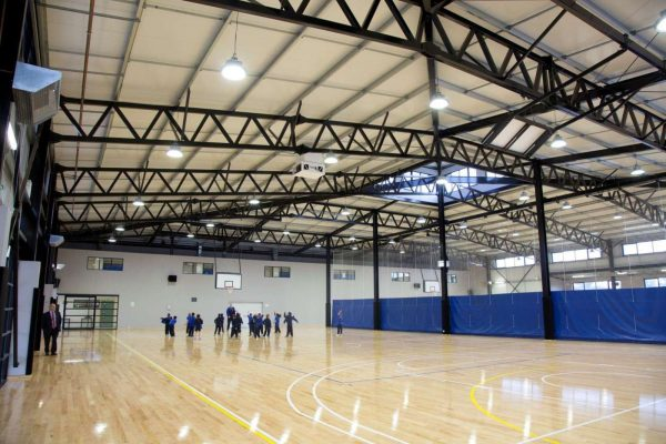 Melton christian college askin for Building a basketball gym