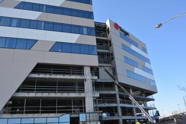 Non-combustible building solution for Target HQ with ASKIN's Volcore Exterior Panel