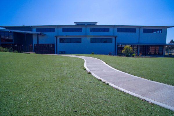 Gym facade