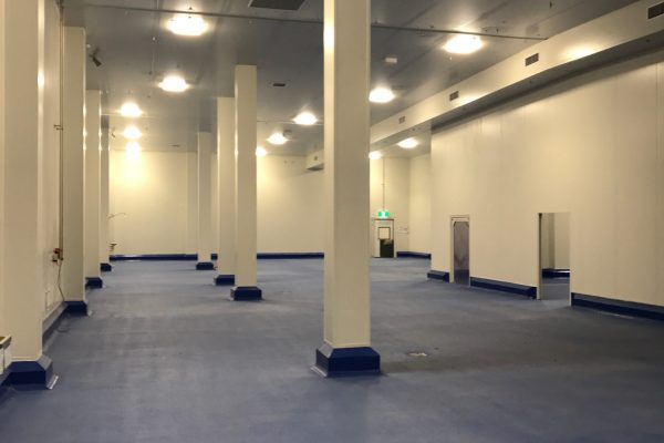 Food processing facility construction: cool room and clean rooms