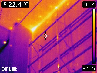 thermal imaging coolroom and freezers