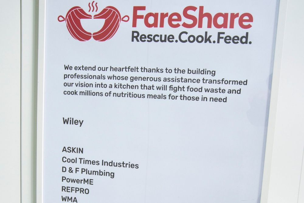 ASKIN - ASKIN Performance Panels supports FareShare