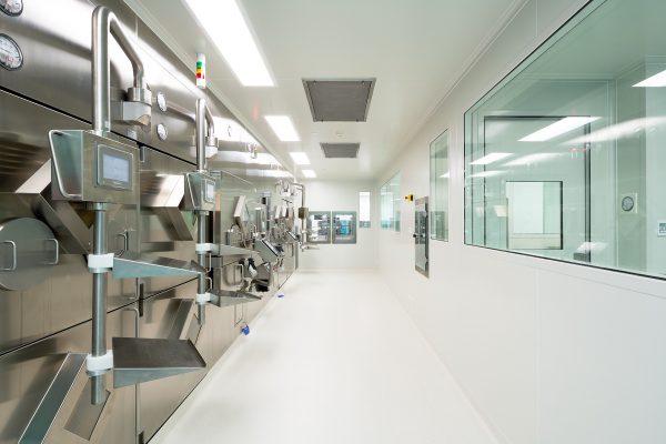 Brisbane hospital clean room