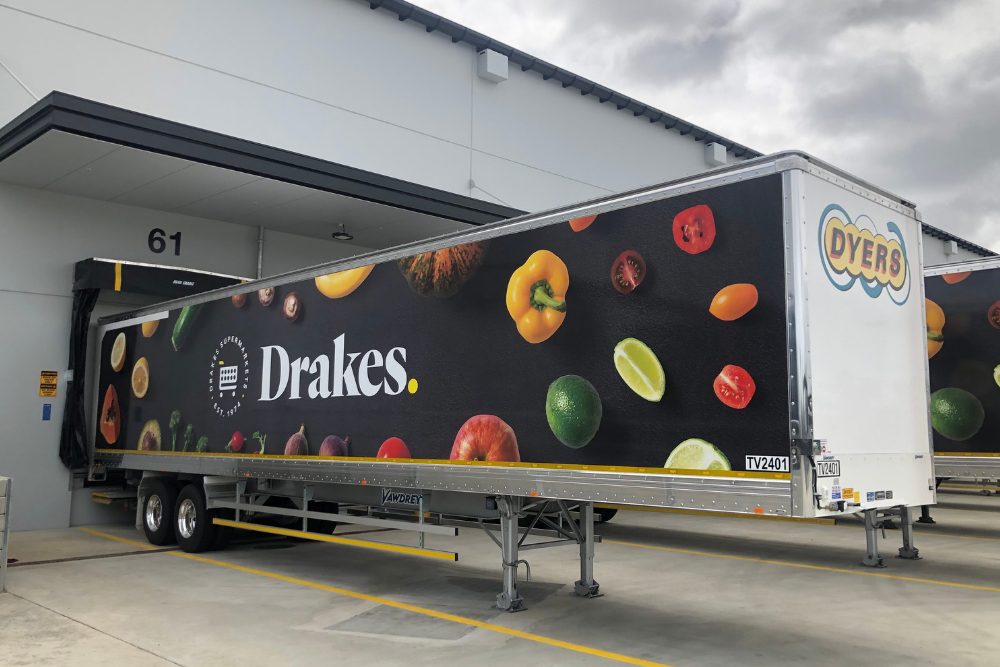 Drakes supermarkets distribution centre