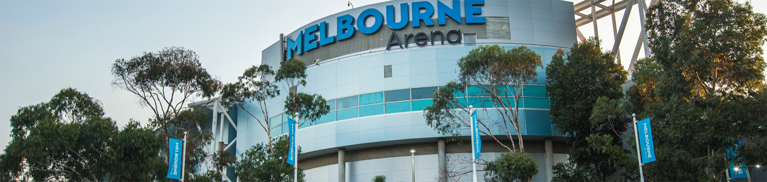 Melbourne Arena Facade upgrade