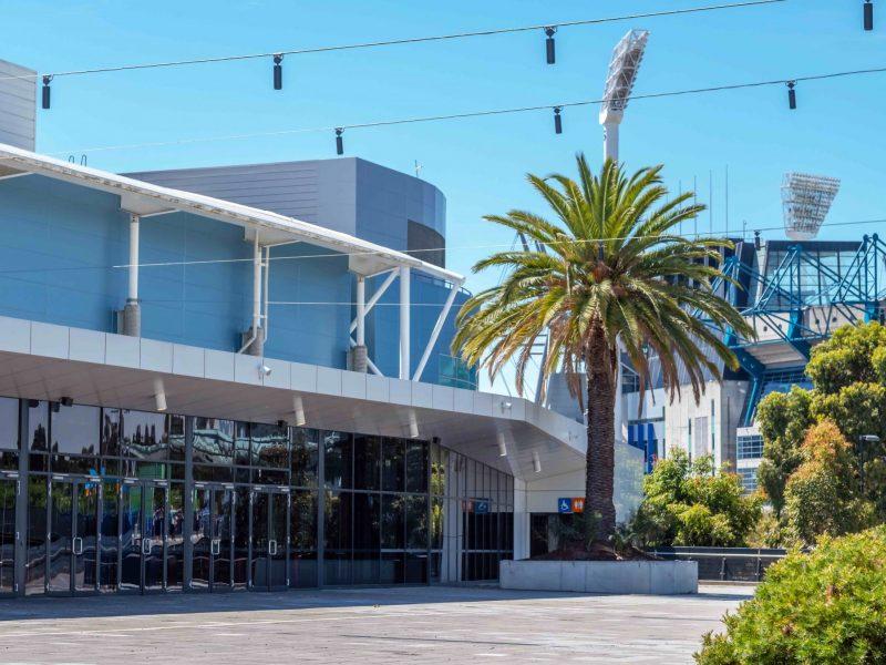 Melbourne Arena facade upgrade