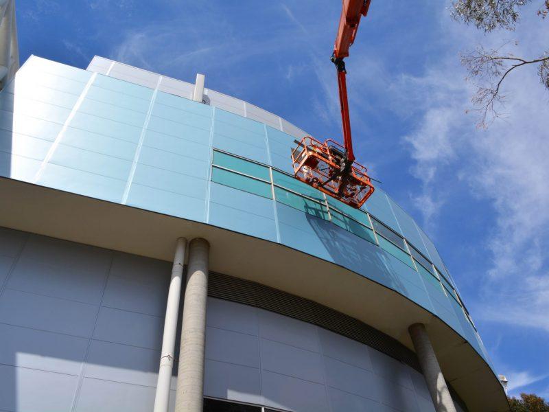 ASKIN - Melbourne Arena Facade upgrade
