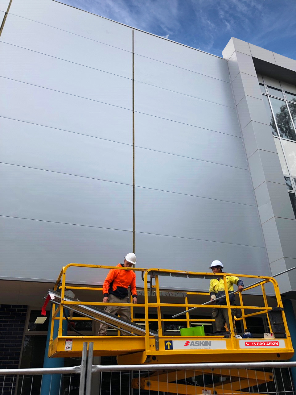 ASKIN Recladding and facade rectification