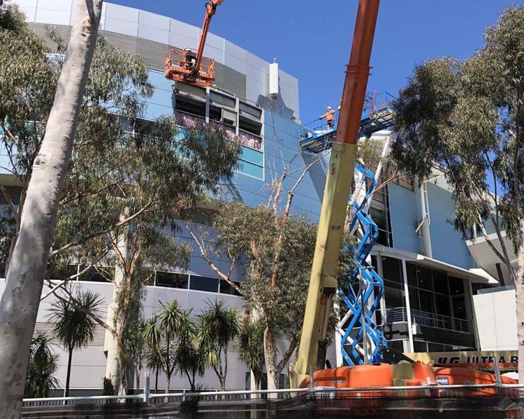 ASKIN - Case Study - Melbourne Arena Facade Upgrade